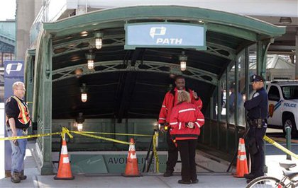 The Hoboken PATH station was closed for a while