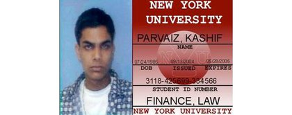 "According to the Star-Ledger, ""Cousins of Nazish Noorani said Kashif Parvaiz provided them with this fake student ID after the couple married. Noorani's family knew nothing about him at the time so they vetted him."""