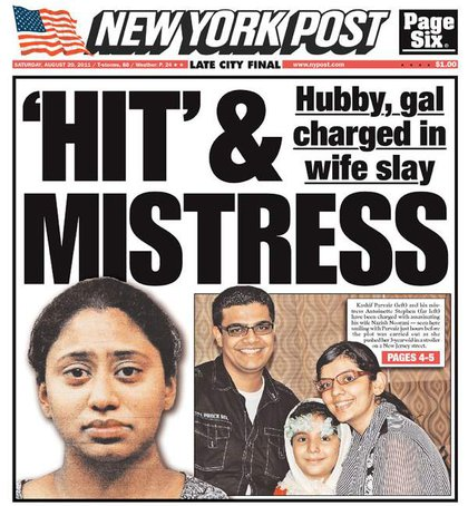 The NY Post's cover