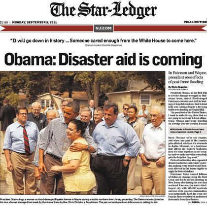 The Star-Ledger's front page