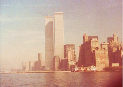 Taken in the 1970s while on the Staten Island Ferry, from a Kodak Instamatic