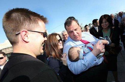 Baby meets Christie