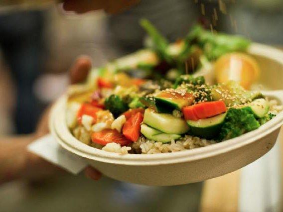 Veggie bowl.