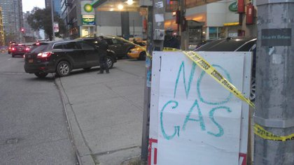 The BP on 10th Avenue and 36th Street