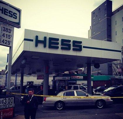 No more gas at this Hess.