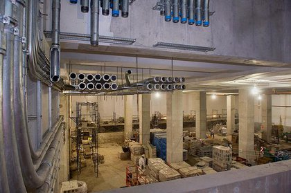 More inside the ventilation facility.