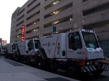 The Department of Sanitation is ready!