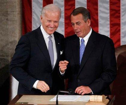 Biden and Boehner