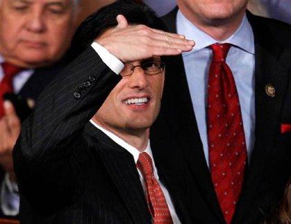 House Majority Whip Eric Cantor