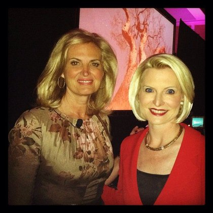 Ann Romney and Callista Gingrich at the NRA meeting