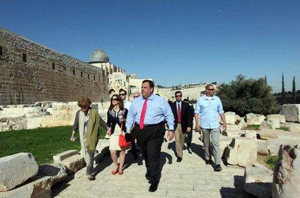 In Israel!
