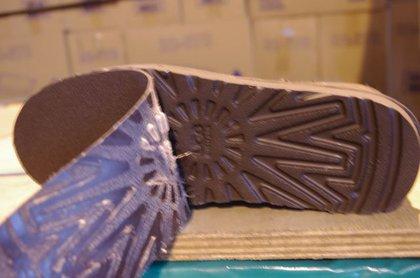 Peeling away FAKE soles