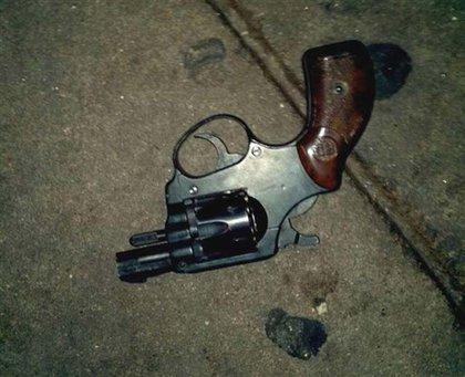 McBride's gun