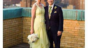 Cynthia Nixon Goes Green In Wedding Dress Gothamist