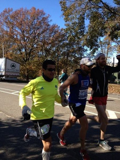 American Cancer Society Make-Your-Own Marathon in Prospect Park to raise $ for Sandy disaster relief
