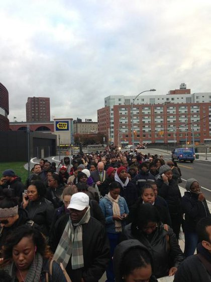 Line is long at Barclays