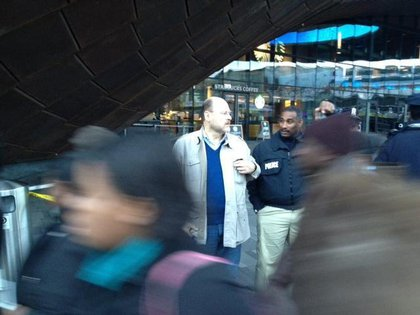 Hey, it's MTA Chairman Joe Lhota!