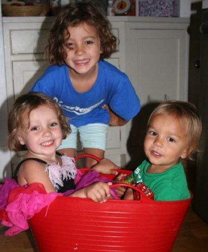 The Krim children