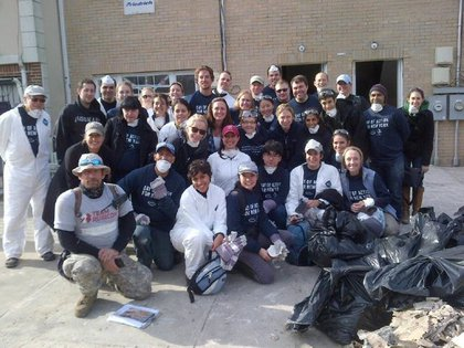 Day of Action volunteers