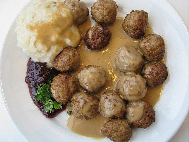 Eat Meatballs Salmon And Gravlax At Ikea S Swedish