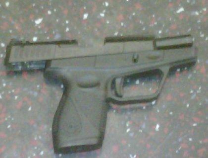 9-millimeter Taurus used by subway gunman
