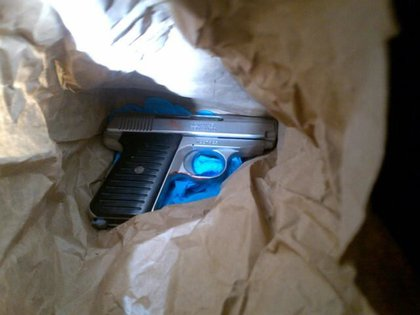 Bryco .380 gun used by Bronx would-be robber