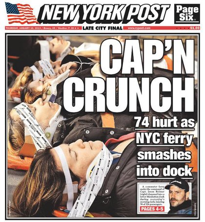 NY Post decides on a pun