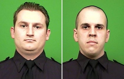 Officers Lukasz Kozicki and Michael Levay