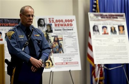 A state trooper at today's press conference