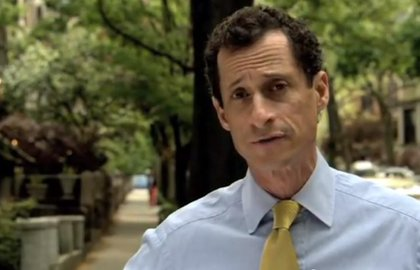 Anthony Weiner: Loves second chances