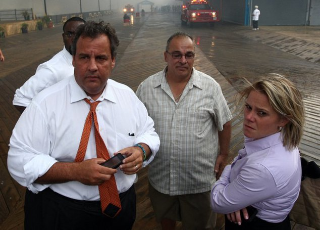 Governor Christie and Bridget Anne Kelly last year