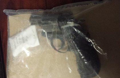 .38-caliber revolver