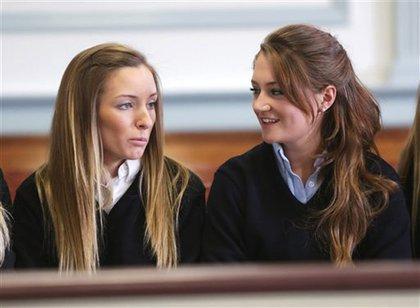 Rachel and her friend Jaime Inglesino