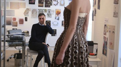 DIOR AND I: When John Galliano's anti-Semitic meltdown led to his dismissal as the creative force at Christian Dior, the House of Dior sought Raf Simons as the new head designer. Dior and I looks at Simons' first collection.