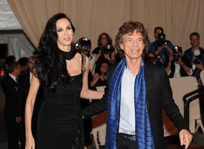 Scott and Mick Jagger
