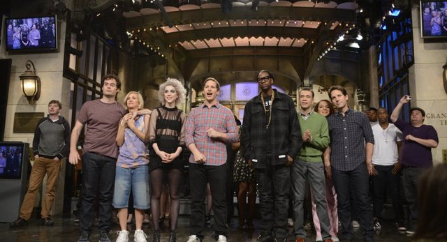 Video Andy Samberg Joined By Tons Of Em Saturday Night Live Em Alums For Season Finale Gothamist