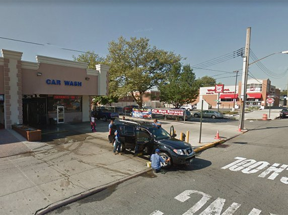 A Google Street View image of the car wash