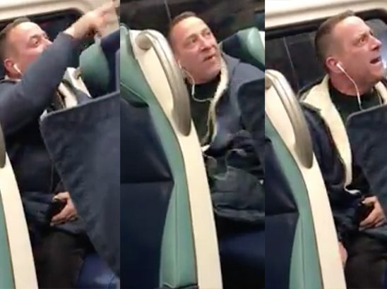 This Long Island Rail Road rider was charged with a hate crime after his racist rant