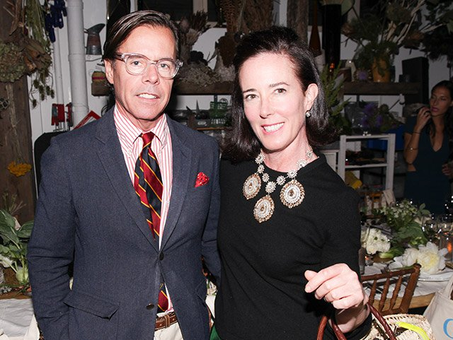 Andy and Kate Spade in June 2014