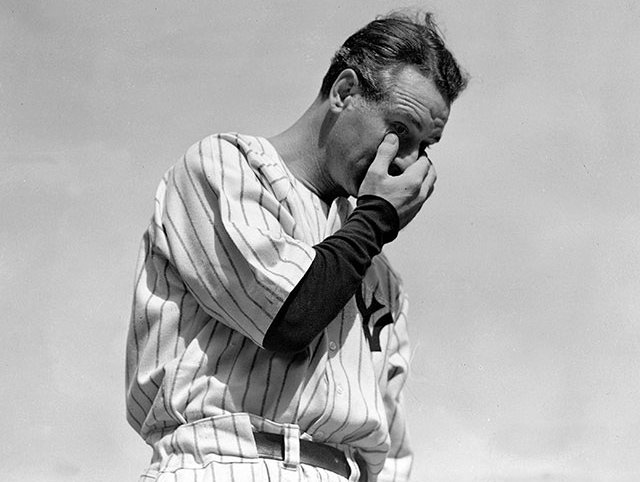 official photos a1298 babff The Real Story Behind Lou Gehrig's Famous July 4th 'Luckiest ...