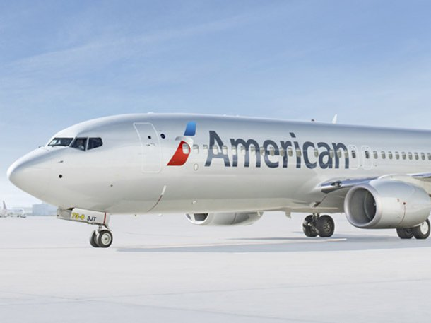 An American Airlines aircraft