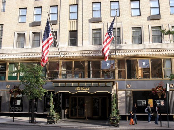 File photo of the Carlyle Hotel