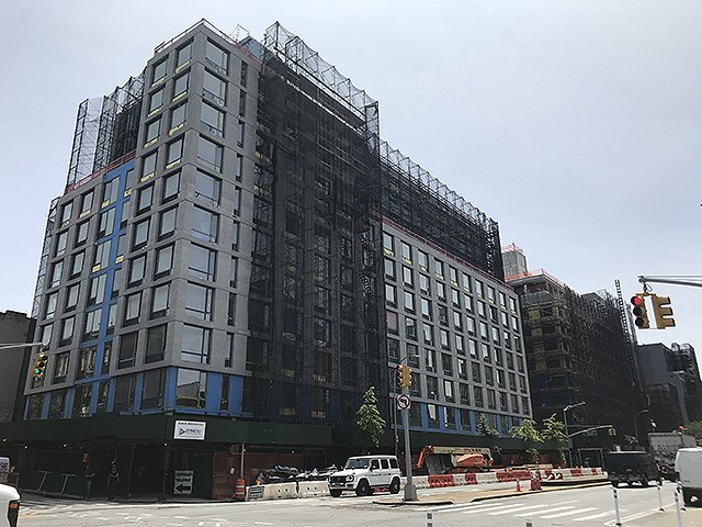 The city is set to pay $261 million over nine years to operate two new buildings on 4th Avenue and 15th Street in Park Slope as family homeless shelters