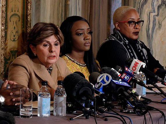 Gloria Allred Says R  Kelly Accuser Is Meeting With The NYPD