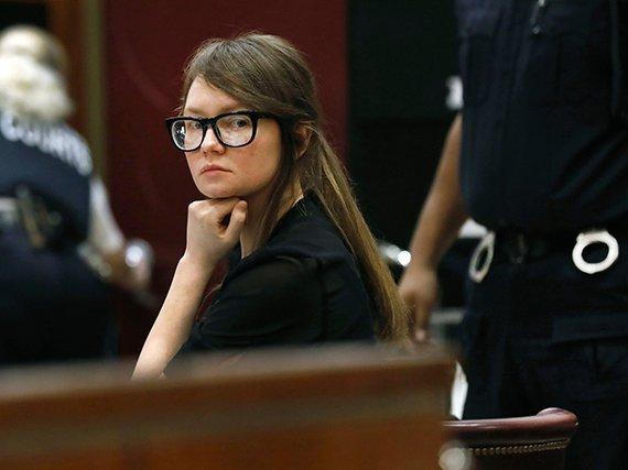 Anna Sorokin in court on Thursday, April 25, 2019