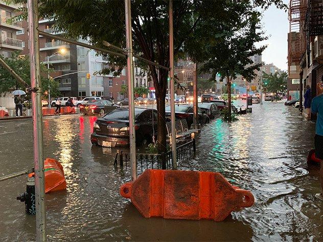 Flooding near the Gowanus