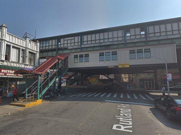 The Sutter Avenue-Rutland Road subway station