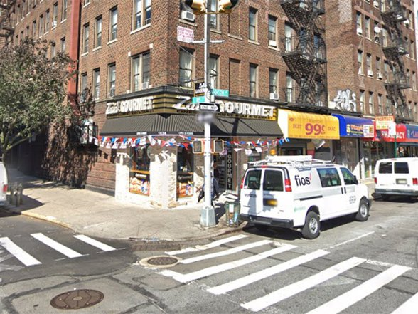 Street view of 109th Street and Madison Avenue
