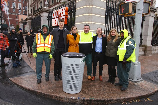 Sanitation Department Selects NYC's Garbage Can Of Tomorrow