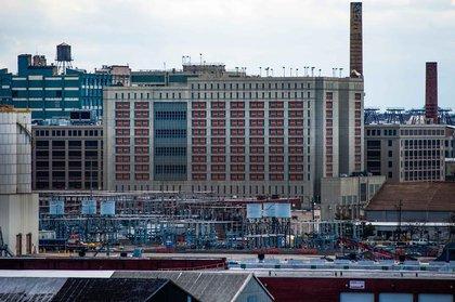 Metropolitan Detention Center, Brooklyn.<br/>